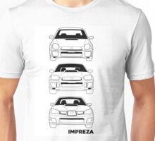 Subaru Impreza Fans Unisex T-Shirt