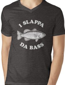 I Slappa Da Bass T-Shirt Mens V-Neck T-Shirt