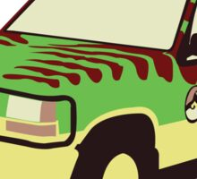 Jurassic Park Ford Sticker