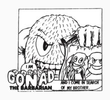 Gonad The Barbarian - Searching Kids Tee