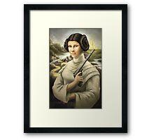 Mona Leia Framed Print