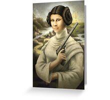Mona Leia Greeting Card