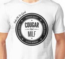 Vintage Retro Cougar Hot Milf T-shirt Unisex T-Shirt