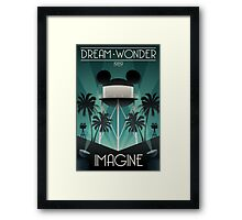 Dream Wonder Imagine Framed Print