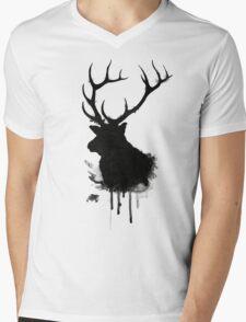 Elk Mens V-Neck T-Shirt