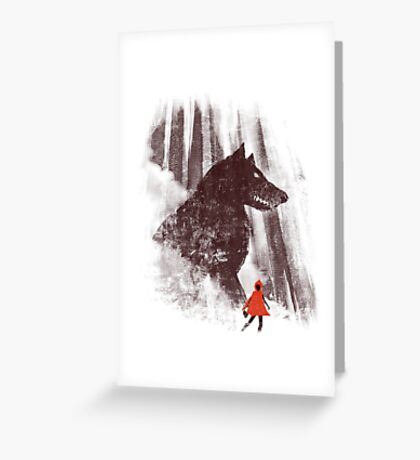 forest friendly Greeting Card