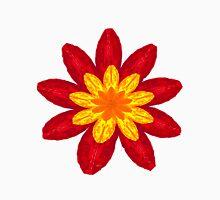 Red Flower full Bloom Unisex T-Shirt