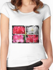Love Rhododendrons Women's Fitted Scoop T-Shirt