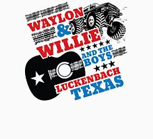 Waylon Willie and The Boys Luckenbach, Texas Long Sleeve T-Shirt