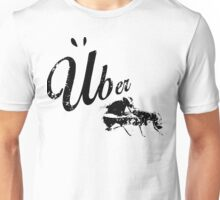 Retro Worn Uber Fly T-shirt Unisex T-Shirt