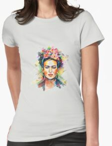 Kahlo Frida Womens Fitted T-Shirt
