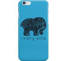 elephant ivory ella  iPhone Case/Skin