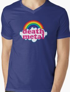 Death Metal Rainbow (Original) Mens V-Neck T-Shirt