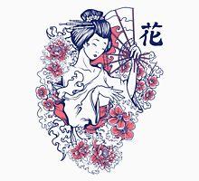 Geisha and Roses Tshirt Unisex T-Shirt