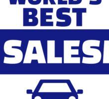World's best car salesman Sticker