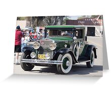 Cadillac La Salle Coupe Greeting Card