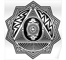 Grateful Dead Steal Your Face Mandala Poster