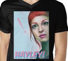 Hayley rocks! Mens V-Neck T-Shirt