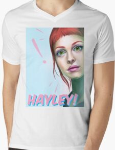 Hayley rocks! Mens V-Neck T-Shirt