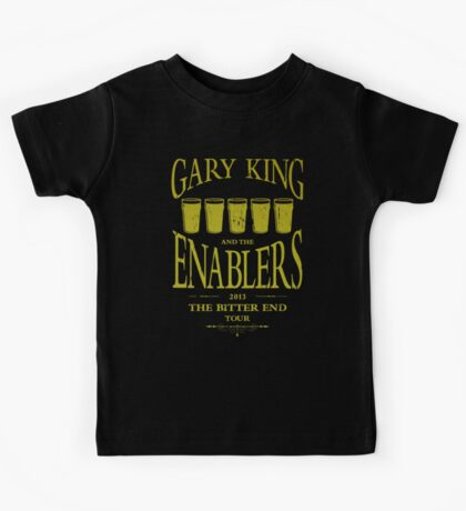 Gary King and the Enablers Kids Tee