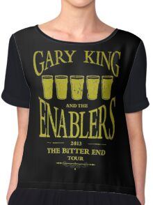 Gary King and the Enablers Women's Chiffon Top