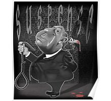 Suspense, Alfred Hitchcock Poster
