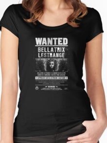 wanted bellatrix  Women's Fitted Scoop T-Shirt