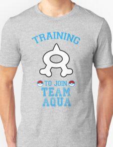 Training to join Team Aqua Unisex T-Shirt