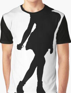 Skater Girl Graphic T-Shirt