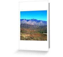 Sunset Point, Black Canyon City, AZ Greeting Card