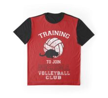 Training to join Nekoma Volleyball Club Graphic T-Shirt