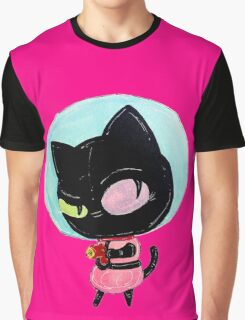 cookie cat's got a raygun Graphic T-Shirt