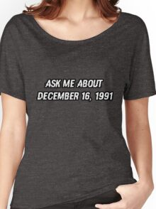 December 16, 1991 Women's Relaxed Fit T-Shirt