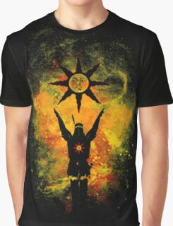 Praise The Sun Fire Graphic T-Shirt