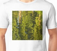 Mesmerizing Summer - Reflecting on Green Trees - Two Unisex T-Shirt