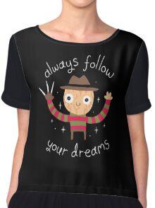 Follow Your Dreams Chiffon Top