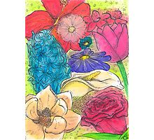 Bouquet of Flowers Photographic Print