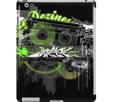 Analogue oldskool graffiti zine iPad Case/Skin