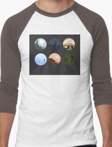 Planets Men's Baseball ¾ T-Shirt