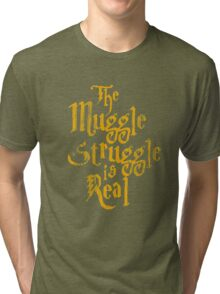Harry Potter - Muggle Struggle Tri-blend T-Shirt