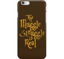 Harry Potter - Muggle Struggle iPhone Case/Skin