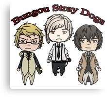 Bungou Stray Dogs chibi Metal Print