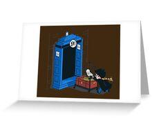 Harry Potter - Tardis Greeting Card