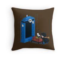 Harry Potter - Tardis Throw Pillow