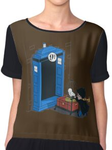 Harry Potter - Tardis Chiffon Top