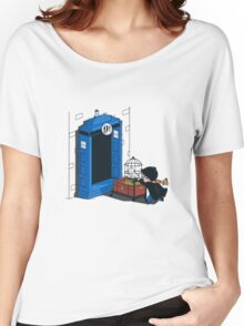 Harry Potter - Tardis Women's Relaxed Fit T-Shirt