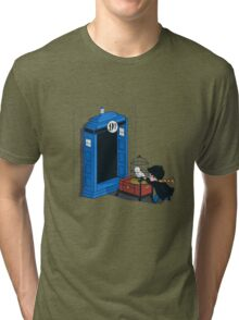 Harry Potter - Tardis Tri-blend T-Shirt