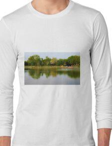 Reflection Landscape Long Sleeve T-Shirt
