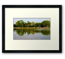 Reflection Landscape Framed Print