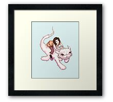 How To Train Your Luck Dragon Framed Print